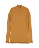 Organic golden mustard LS t-shirt