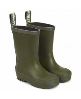 Olive wellies