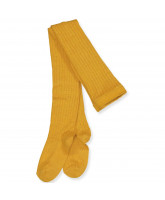 Golden spice wool tights