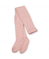 Rose non-slip wool tights