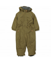 Military olive snowsuit
