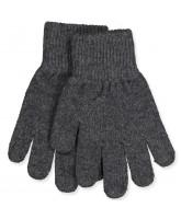 Antrazite wool gloves