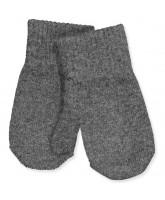 Antrazite wool mittens