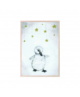 The beautiful duckling poster 21x30 cm