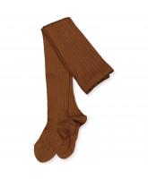 Terracota wool tights