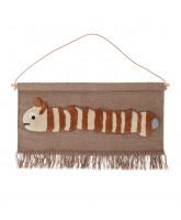 Leo larva wall rug