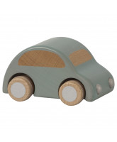 Wooden car - light blue