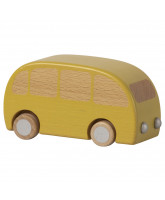 Wooden bus - yellow