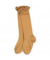 Joséphine lace knee socks