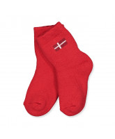 DK red socks