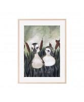 Duck friends poster 30x40 cm