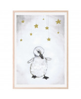 The beautiful duckling poster 50x70 cm