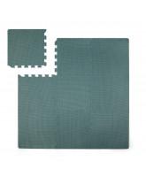 Blue foam play mat