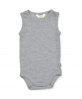 Grey wool bodysuit