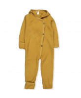 Organic wool fleece suit