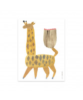 Wall decoration Noah Giraffe