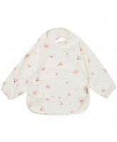 Windflower cream bib