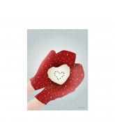Christmas SNOW HEART