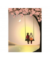 Wall decoration SUNSET WITH YOU