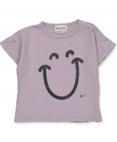 T-shirt Big Smile Lila
