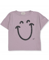 T-shirt Big Smile Lilas