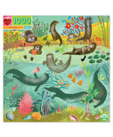 Puzzle 1000 psc - Otters