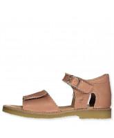 Sandals open toe Scallop velcro