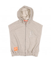 grey sweat vest