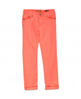 neon pink jeans
