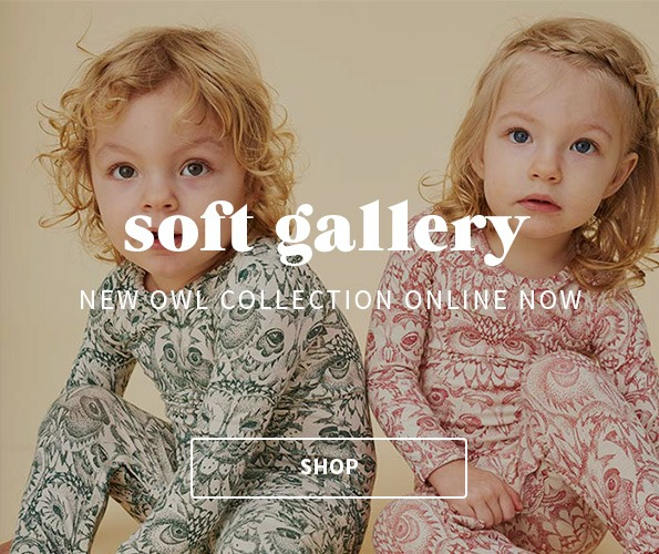 Soft gallery limited owl collection